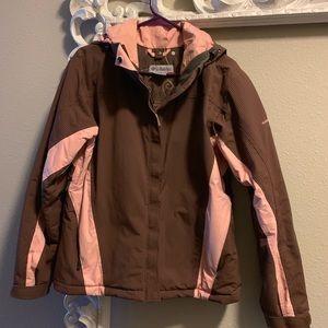 Women's Columbia winter jacket size M
